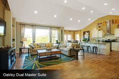 Schumacher Homes Custom Great Rooms by Schumacher Homes
