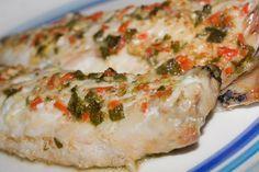 Filetti di sgombro al forno in marinata extra piccante con peperoncino habanero