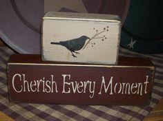 prim crow block sign