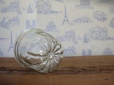Vintage French glass cake mold by MyNiftyBrocante on Etsy, $ 20.00