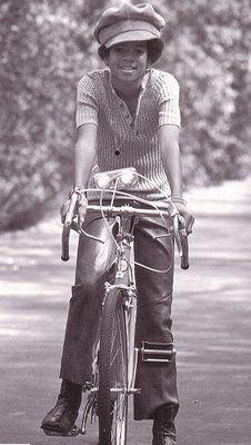 Happy 55th birthday to Michael Jackson. The Best Bike Blog Ever  Michael  Jackson Rides b9ee21b85fc