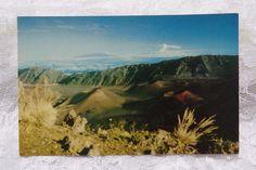 Vintage Postcard Hawaii Hawaiian Nani Li'i Krome 1951 Haleakala Crater Maui #Vintage #postcard #Hawaii #Beach