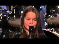 Little girl singing screamo *must watch*