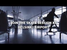 Want to #skate at #Helsinki Airport with Arto Saari? - #finnair