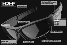 PivotHead 1080 HD Video Recording Sunglasses