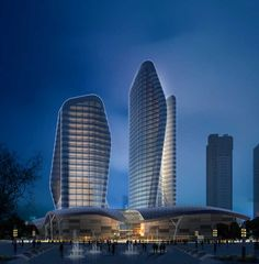 Wuhan Towers