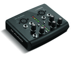 m-audio M-Track - Two-Channel USB Audio/MIDI Interface http://www.m-audio.com/products/en_us/MTrack.html