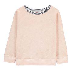 Sweat Eponge Rib Rayé Bonton Enfant- Large choix de Mode sur Smallable, le Family Concept Store - Plus de 600 marques.