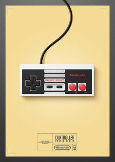 it8Bit — Controller Poster Series Created byQuentin Fevre