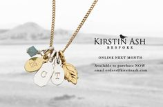 I love this initials necklace - a good friend of mine has it and I love how subtle and classic it looks!