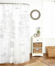 Love this Human Skeleton Shower Curtain on #zulily! #zulilyfinds SMART Super Memory Art