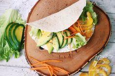 Тортилья с овощами и авокадо   Food Book