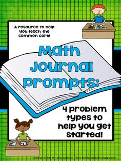 "Whether you are a seasoned math journal user or are ready to dabble for the first time, this resource has something for you! This download is a set of math journal problems which are perfect for most intermediate (grades 3-5) students and provide real-world problem solving practice including fun and exciting, non-traditional math journal problems including word problems, ""Mystery Numbers"", ""True/False Statements"", and ""Tell me what you know about…"" problems.  $5.00"