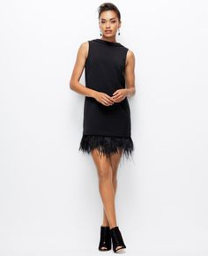 I need more feather dresses in my life! http://rstyle.me/~cz-3itf1