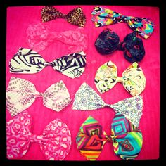 In love with hair bows!