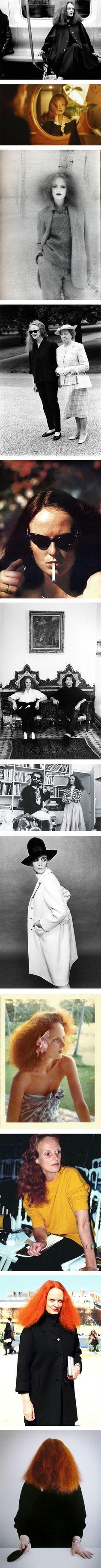 Grace Coddington's best style moments via Nuji.com