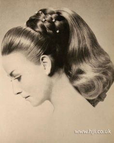 Magnificent Hairstyle For Long Hair Updo And 1960S On Pinterest Short Hairstyles Gunalazisus