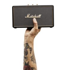 "Built for life on the road, it is the smallest travel speaker made by Marshall today. This portable active stereo speaker weighs just 3 lbs which means it'll go wherever you want it to go. It packs a sonic punch, with two 2.25"" woofers and two-channel Class D amplifiers, making it the loudest speaker in its class. Equipped with Bluetooth 4.0 technology and a 3.5mm to connect a multitude of listening devices. $250.00"