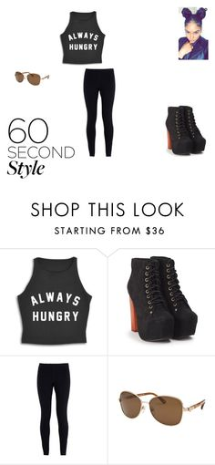 """""""60 seconds"""" by anquinette on Polyvore featuring Jeffrey Campbell, NIKE, MICHAEL Michael Kors, DRAKE, views and 60secondstyle"""