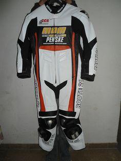 Custom Motorcycle Suit by ROUTE 21 Racing Apparel