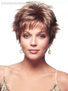 Pixie for round face and fine/thinning hair? - Google Search