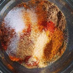 zelfgemaakte shoarma kruiden