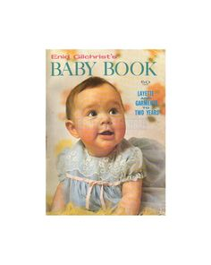 Enid Gilchrist's Baby Book 2 - Layette and Garments To Two Years - Drafting Book -  Instant Download PDF 52 pages Pdf Patterns, Craft Patterns, Vintage Patterns, Doll Clothes Patterns, Clothing Patterns, Flower Hats, Shop Logo, Pattern Drafting, Cute Pattern