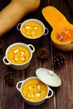 Butternut squash and goat cheese flan - Amandine Cooking - Recettes - Vegetarian Recipes Fall Dessert Recipes, Fall Recipes, Healthy Dinner Recipes, Vegetarian Recipes, Snack Recipes, Vegan Vegetarian, Crockpot Recipes, Cooking Recipes, Salty Foods