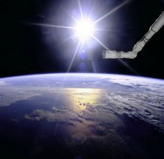 Sunrise on the ISS