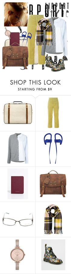 """""""356"""" by mrs-h-7 ❤ liked on Polyvore featuring Zara, Marni, Anouki, Whitby, O My Bag, Roberto Cavalli, Miss Selfridge, Michael Kors, Dr. Martens and airportstyle"""