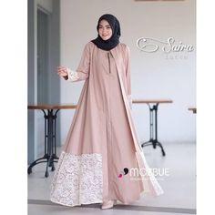 Modern Fashion Lace Open Abaya with Hijab Fashion for Muslim Ladies – Girls Hijab Style & Hijab Fashion Ideas Muslim Women Fashion, Islamic Fashion, Abaya Fashion, Fashion Dresses, Hijab Gown, Moslem Fashion, Modele Hijab, Mode Abaya, Hijab Fashion Inspiration