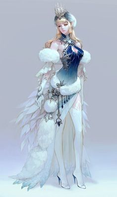 Some fantasy female inspiration! Credits to the artists of these beatiful drawings! Fantasy Girl, 3d Fantasy, Fantasy Women, Fantasy Dress, Fantasy Makeup, Stil Inspiration, Character Design Inspiration, Character Concept, Character Art
