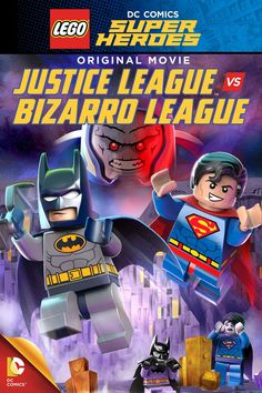 """""""Me am Bizarro!""""  See the new league of opposites in Justice League vs. Bizarro League available on Blu-ray™ Combo Pack & DVD today!  #LEGOJLBizarro"""