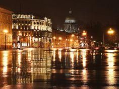 St Petersburg at night by Michael Kirian