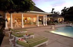 I could spend the afternoon hanging out here Luxury Furniture, Furniture Design, Montego Bay, My Dream Home, Great Rooms, Jamaica, Outdoor Ideas, Outdoor Decor, Terrace