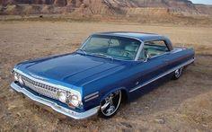 1963 Chevy Impala #AmericanCars
