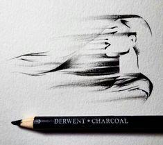 Movement Charcoal Drawings by Taji Joseph  website : http://tajijoseph.tumblr.com/