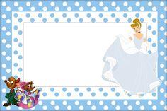 Cinderella: Free Printable Invitations. Free Printable Invitations, Party Printables, Free Printables, Cinderella Birthday, Cinderella Wedding, Oh My Fiesta, Happy Birthday Messages, Princess Party, Disney Princess