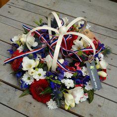 koningskrans van Peter Manders bloemist in Lemmer  www.petermanders.nl