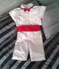 traje niño boda , conjunto niño arras , pantalón camisa niño ceremonia , conjunto seda marfil niño ceremonia , traje niño portador anillos by pitufos on Etsy
