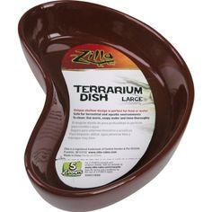 Zilla Reptile Terrarium Dish, Large (Colors Vary) - http://www.petsupplyliquidators.com/zilla-reptile-terrarium-dish-large-colors-vary/