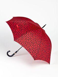 Moschino Cheap & Chic 1000 Hearts Umbrella
