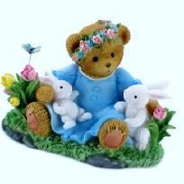 CHERISHED TEDDIES BEAR & BUNNY