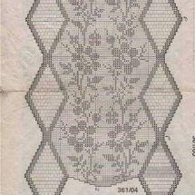 Crochet Curtain Patterns Part 11 - Beautiful Crochet Patterns and Knitting Patterns Crochet Curtain Pattern, Crochet Curtains, Curtain Patterns, Knitting Patterns, Crochet Patterns, Filet Crochet Charts, Beautiful Crochet, Crochet Lace, Crochet Projects
