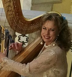 """Playing Songs like, """"A Thousand Years"""" and """"Marry Me"""" helped make this ceremony contemporary and elegant. A Thousand Years, Marry Me, Harp, Elegant, Touch, Songs, Weddings, Contemporary, Thousand Years"""