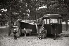 Retro Camping!