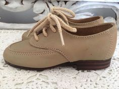 Vintage Bounders Leather Dress Toddler Boys Lace Up Shoes | eBay