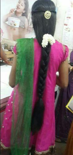 Long Hair Indian Girls, Hair Girls, Beautiful Braids, Beautiful Long Hair, Girl Hairstyles, Braided Hairstyles, Thick Braid, Super Long Hair, Cut My Hair