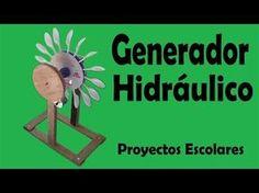 Proyectos | Generador Hidráulico De Energía Eléctrica (muy fácil de hacer) - YouTube