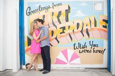 We were featured on Floridian Weddings today! Yay! Fort Lauderdale engagement session by tjphotonotions.com